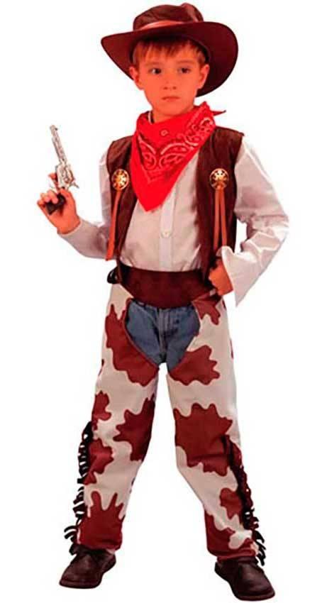 numerosi in varietà migliore vendita vendita limitata Costume Cowboy Bambino Tg. 7 a 12 Anni