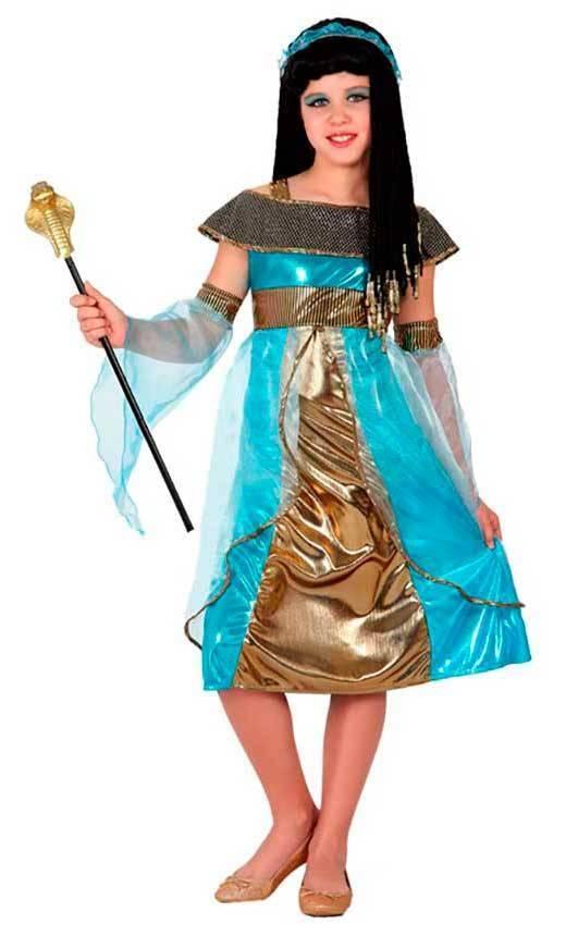 2f9d4b18fb29 Costumi Egiziana Azzurra per Carnevale 15960