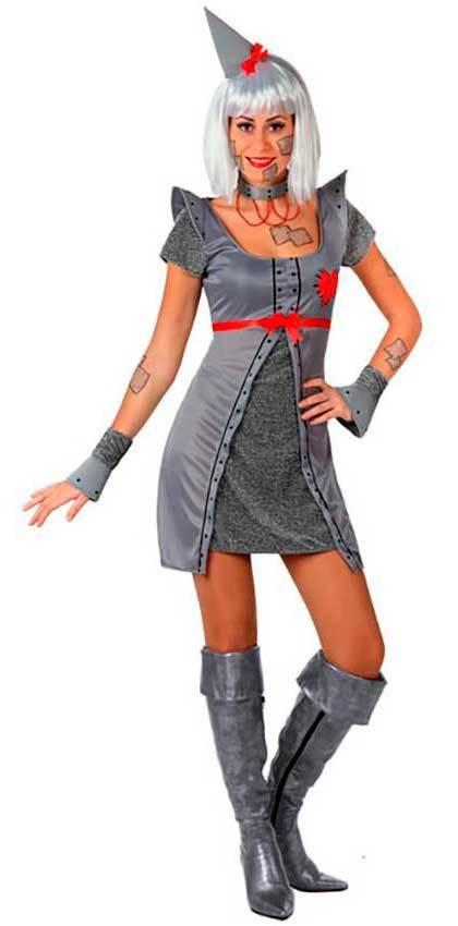 Costumi Donna di Latta Sexy per Carnevale 16462  cc35741630c