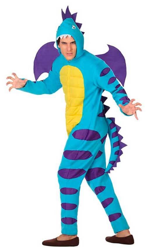 65f2e3f5e8 Costumi Drago Blu Adulto per Carnevale 26895 | La Casa di Carnevale