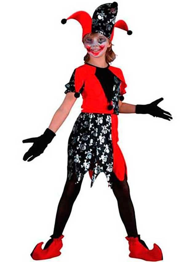Costumi Giullare Halloween per Carnevale 70601  518c39b4d048