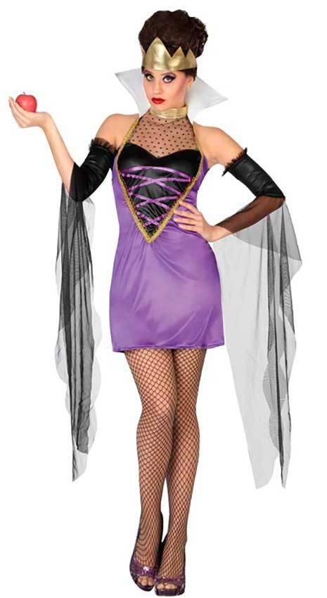 Costumi Regina Malefica Sexy per Carnevale 2648  6dad3a455ec4