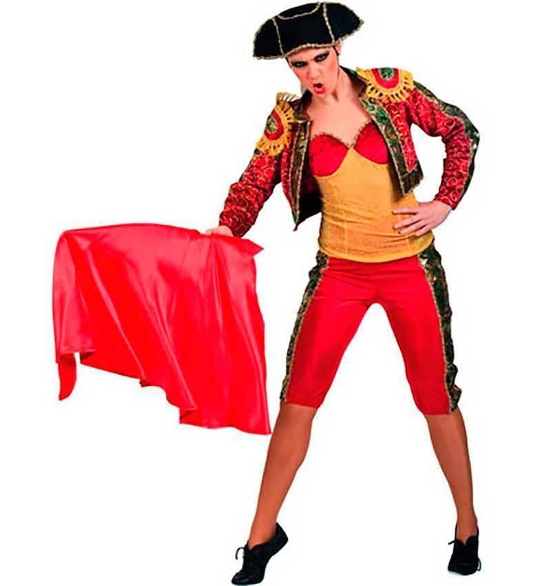 Altre viste. Costume Torero-Matador Donna Adulto ... d381d08ba694
