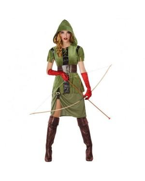 Costume Arciere Verde Donna per Carnevale | La Casa di Carnevale