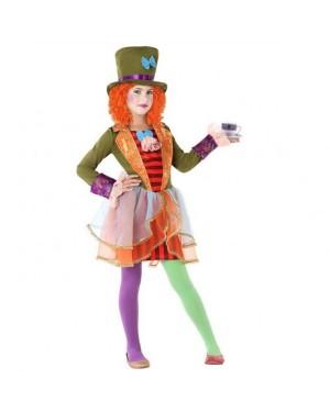 Costume Cappellaia Matta Donna per Carnevale | La Casa di Carnevale