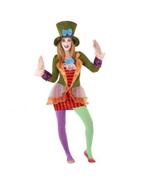 Costume Cappellaia Matta Giovanile per Carnevale | La Casa di Carnevale
