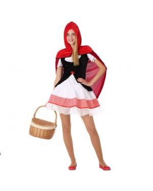 Costume Cappuccetto Rosso Giovanile per Carnevale | La Casa di Carnevale
