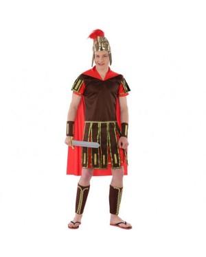 Costume Centurione Romano Rosso Giovanile per Carnevale | La Casa di Carnevale