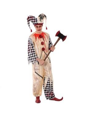 Costume da Arlecchino Sanguinante Giovanile per Carnevale   La Casa di Carnevale