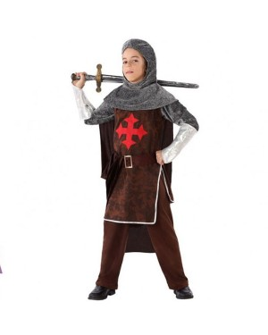 Costume da Crociato Medievale  Bamibino per Carnevale | La Casa di Carnevale