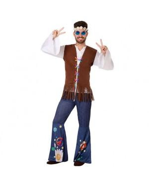 Costume da Hippie Adult per Carnevale | La Casa di Carnevale