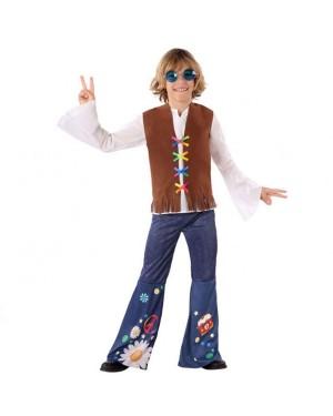 Costume da Hippie Bambino per Carnevale | La Casa di Carnevale