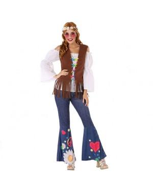 Costume da Hippie Donna per Carnevale | La Casa di Carnevale