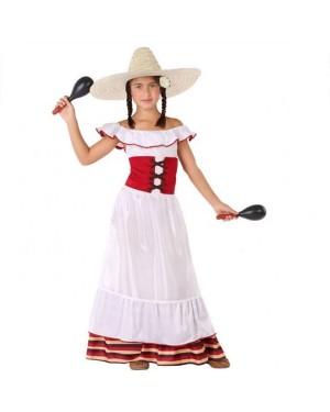 Costume da Messicana Bambina per Carnevale   La Casa di Carnevale