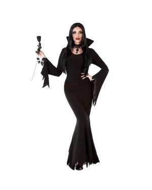 Costume da Vampira Nera Donna per Carnevale | La Casa di Carnevale