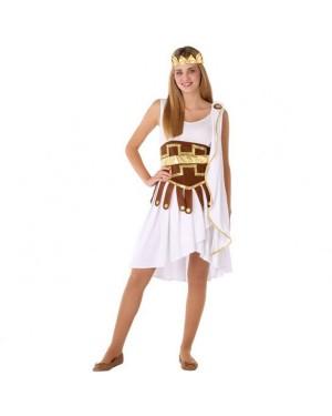 Costume Dea Greca Sexy Bianca Giovanile per Carnevale | La Casa di Carnevale