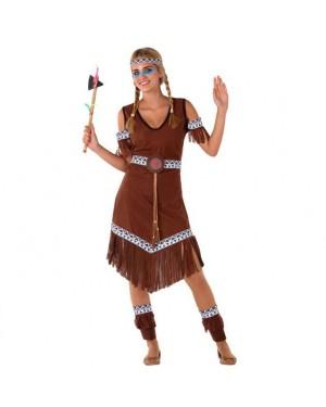 Costume Indiana Selvaggia Giovanile per Carnevale | La Casa di Carnevale