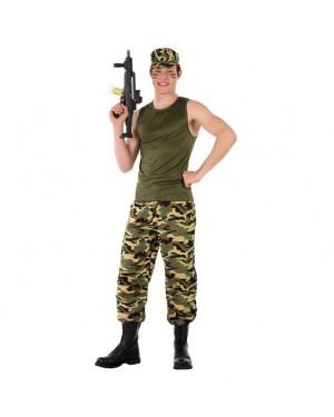 Costume Militare Mimetico Giovanile per Carnevale | La Casa di Carnevale