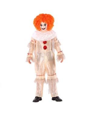 Costume Pagliaccio Malefico Bambini per Carnevale | La Casa di Carnevale