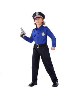 Costume Polizia Bambini per Carnevale | La Casa di Carnevale