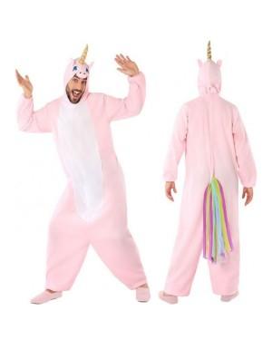 Costume Unicorno Rosa Adult per Carnevale | La Casa di Carnevale