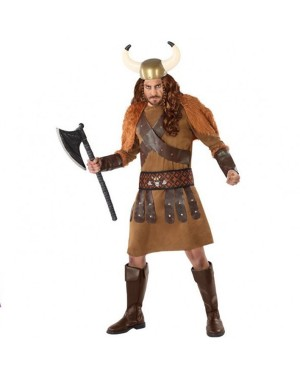 Costume Viking Marrone Adult per Carnevale | La Casa di Carnevale