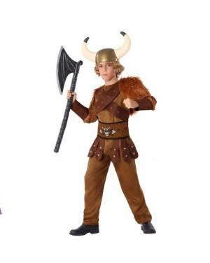 Costume Viking Marrone Bambino per Carnevale | La Casa di Carnevale