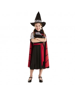 Costume Apprendista Strega Bambina per Carnevale | La Casa di Carnevale