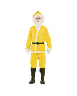Costume Babbo Natale Giallo per Carnevale | La Casa di Carnevale