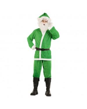 Costume Babbo Natale Verde  per Carnevale | La Casa di Carnevale