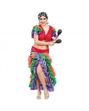 Costume Ballarina di Rumba Donna per Carnevale | La Casa di Carnevale