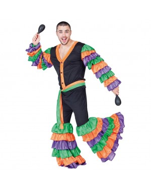 Costume Ballerino di Rumba Adulto per Carnevale | La Casa di Carnevale