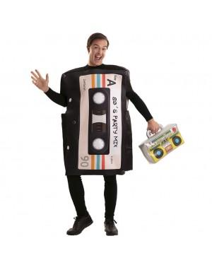 Costume Cassette Anni'80 per Carnevale | La Casa di Carnevale