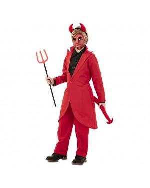 Costume Demone Elegante Bambino per Carnevale | La Casa di Carnevale
