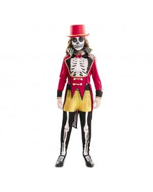 Costume Domatore Scheletro Bambina per Carnevale | La Casa di Carnevale