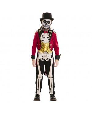 Costume Domatore Scheletro Bambino per Carnevale | La Casa di Carnevale