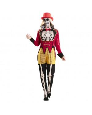 Costume Domatore Scheletro Donna per Carnevale | La Casa di Carnevale
