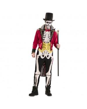 Costume Domatore Scheletro Uomo per Carnevale | La Casa di Carnevale