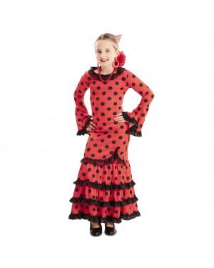 Costume Flamenco Sivigliana Bambina per Carnevale | La Casa di Carnevale