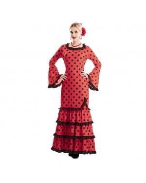 Costume Flamenco Sivigliana Donna per Carnevale | La Casa di Carnevale