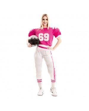 Costume Giocatore de Rugby Donna per Carnevale | La Casa di Carnevale