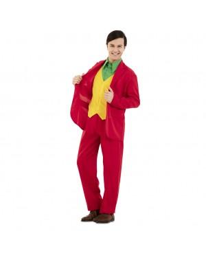 Costume Joker Rosso Uomo per Carnevale | La Casa di Carnevale