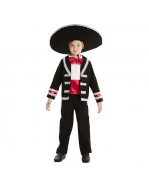Costume Messicano-Catrin Bambino per Carnevale | La Casa di Carnevale