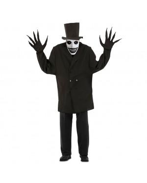 Costume Mr. Ombra Halloween Adulto per Carnevale | La Casa di Carnevale