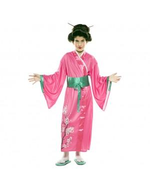 Costume Orientale Giapponese Bambina per Carnevale | La Casa di Carnevale