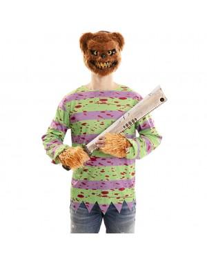 Costume Orso Assassino Adulto per Carnevale | La Casa di Carnevale
