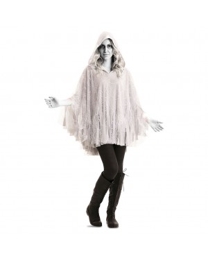 Costume Poncho fantasma Adulto per Carnevale | La Casa di Carnevale