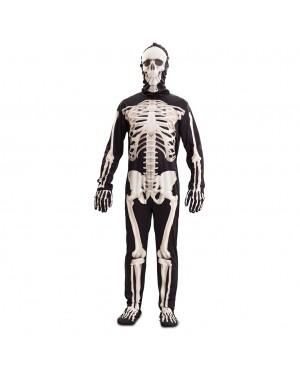 Costume Scheletro de Luxe Uomo per Carnevale | La Casa di Carnevale