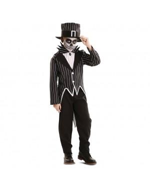 Costume Scheletro elegante Bambino per Carnevale | La Casa di Carnevale