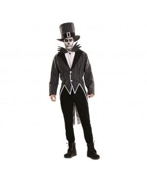 Costume Scheletro Elegante Uomo per Carnevale | La Casa di Carnevale